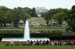 Mémorial de Jefferson   photo libre de droits