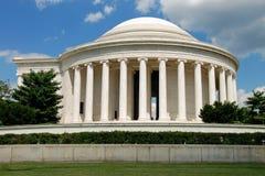 Mémorial de Jefferson dans le Washington DC images stock