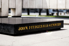 Mémorial de JFK Photo stock