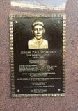 Mémorial de Joe di Maggio dans le Yankee Stadium, New York photographie stock libre de droits
