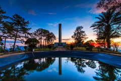 Mémorial de Khao Kho dans la province de Phetchabun de la Thaïlande Photo stock