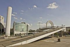 Mémorial de l'Amérique latine Photographie stock libre de droits