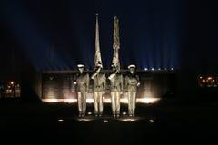 Mémorial de l'Armée de l'Air de C.C d'Arlington Photographie stock libre de droits