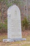 Mémorial de la Communauté de blé Image stock