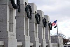 Mémorial de la deuxième guerre mondiale Images stock