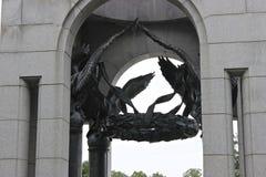 Mémorial de la deuxième guerre mondiale Images libres de droits