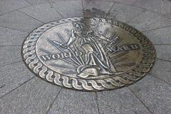Mémorial de la deuxième guerre mondiale Photos libres de droits