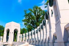 Mémorial de la deuxième guerre mondiale dans DC de Washington Etats-Unis image libre de droits