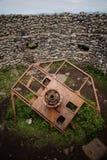 Mémorial de la deuxième guerre mondiale dans Eggum Images stock