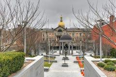 Mémorial de la deuxième guerre mondiale - Trenton, New Jersey photographie stock
