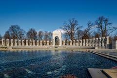 Mémorial de la deuxième guerre mondiale - Washington, D C , les Etats-Unis image stock