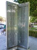 Mémorial de la guerre II de haute plaine Image libre de droits