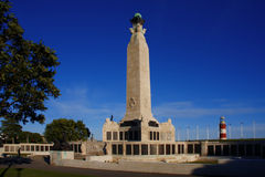 Mémorial de la guerre, Plymouth, R-U photo libre de droits