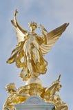 Mémorial de la Reine Victoria à Londres, Angleterre Image stock