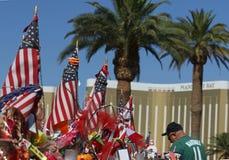 Mémorial de Las Vegas au signe bienvenu historique Image libre de droits