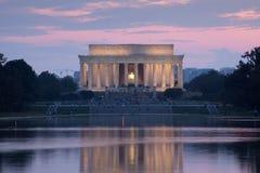 mémorial de Lincoln Photo stock