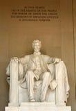 Mémorial de Lincoln Images stock