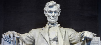 Mémorial de Lincoln, Washington, C Photographie stock