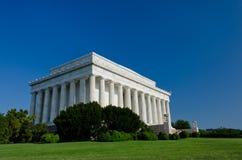 Mémorial de Lincoln, Washington DC Etats-Unis image libre de droits