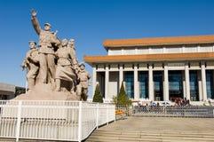 mémorial de mao de Président Image libre de droits