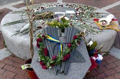 Mémorial 3 de marathon de Somerville Boston Photo stock