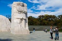 Mémorial de Martin Luther King Image libre de droits