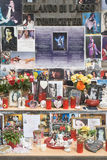 Mémorial de Michael Jackson Photo libre de droits