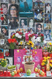 Mémorial de Michael Jackson Photographie stock libre de droits
