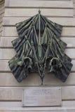 Mémorial de Mitterand dans des Frances de Paris image stock