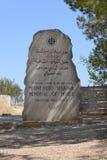 Mémorial de Moïse photos stock