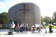 Mémorial de mur Image libre de droits