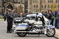 Mémorial de police en septembre 26 d'Ottawa Photos libres de droits