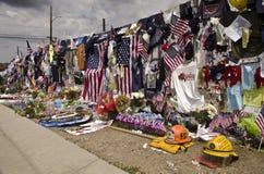 Mémorial de Prescott Hot Shots Image libre de droits