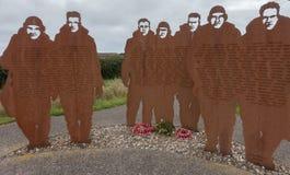 Mémorial de RAF Bomber Command chez RAF Lissett, le Lincolnshire photographie stock