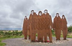 Mémorial de RAF Bomber Command chez RAF Lissett, le Lincolnshire image stock
