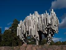 Mémorial de Sibelius Photographie stock libre de droits