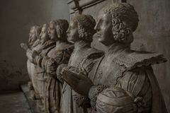 Mémorial de Sir George Bruce, abbaye de Culross image stock