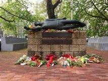 Mémorial de site d'exécution chez le Weteringplantsoen à Amsterdam, Pays-Bas Photo libre de droits