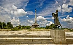 Mémorial de Slavin Photographie stock libre de droits