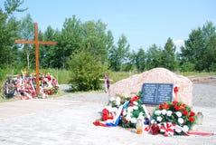 Mémorial de Smolensk Image libre de droits