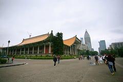 Mémorial de Sun Zhongshan à Taïpeh image stock