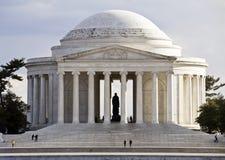 Mémorial de Thomas Jefferson Image libre de droits