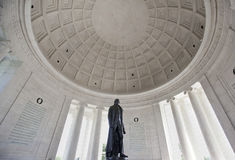 Mémorial de Thomas Jefferson Image stock