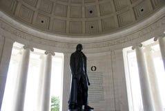 Mémorial de Jefferson Photo stock