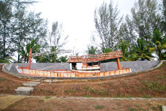 Mémorial de tsunami Image libre de droits