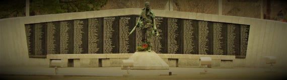 Mémorial de vétérans de l'Arkansas Vietnam image stock