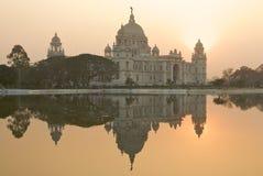 Mémorial de Victoria - Calcutta Images stock