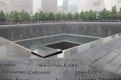 Mémorial de World Trade Center Image stock