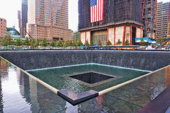 Mémorial de WTC 9-11 Photographie stock