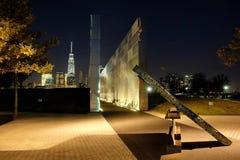 Mémorial du New Jersey 9/11 Images libres de droits